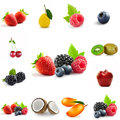Berry theme mix Royalty Free Stock Photo