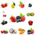 Berry theme mix Royalty Free Stock Photo