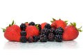 Berry Types Stock Photography