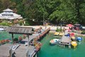 Berth resort krumpendorf am worthersee austria view of Stock Image