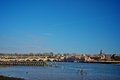 Berwick upon tweed on a nice sunny day Stock Photos