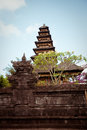 Besakih complex pura penataran agung largest hindu temple of bali indonesia Stock Photography