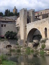 Besalu, Girona ( Spain ) Stock Photos