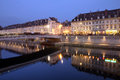 Besancon at night, France Royalty Free Stock Photo