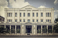 The best address in yangon myanmar november strand hotel facade on november strand is a luxury hotel built during british colonial Stock Photo