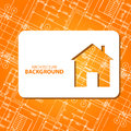 Best architecture background new card for any design vector illustration Stock Photography