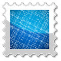 Best architecture stamp new for any design vector illustration Royalty Free Stock Photos