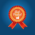 Best badge for your best product Royalty Free Stock Image