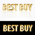 Best buy sign vector illustration Stock Image