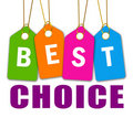 Best choice icon Stock Photography