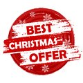 Best Christmas Offer Royalty Free Stock Photo