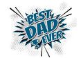 Best Dad Ever Royalty Free Stock Photo