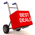 Best deals delivery Royalty Free Stock Photos