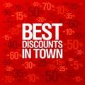 Best Discounts In Town Backgro...