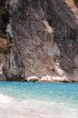 Best greek beach myrthos greece Royalty Free Stock Image
