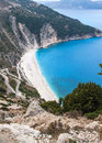 Best greek beach myrthos greece Stock Photo