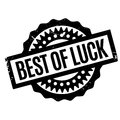 Best Of Luck rubber stamp