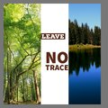 stock image of  Leave no trace