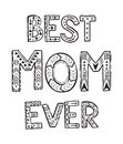 Best Mom ever Royalty Free Stock Photo