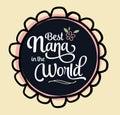 Best Nana in the World Emblem