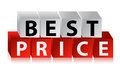 Best Price Button Stock Photo