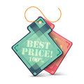 Best price promotion labels modern style design Royalty Free Stock Images