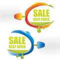 Best price promotional attachable sign Royalty Free Stock Images