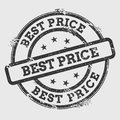 Best Price rubber stamp isolated on white.