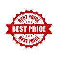 Best price sale grunge rubber stamp. Vector illustration on whit Royalty Free Stock Photo