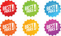 Best price shiny icon Stock Photography