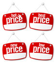 Best price signs Stock Images