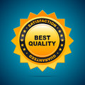Best quality badge icon design vector illustration Royalty Free Stock Images