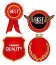 Best Quality Crests and Badges Royalty Free Stock Photo