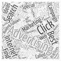 Best Result For Pay Per Click Advertising Search Engine Advertising Internet word cloud concept background