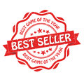 Best seller, Best game of the year Royalty Free Stock Photo