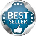 Best seller button Royalty Free Stock Photo