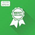 Best seller icon. Business concept best seller ribbon pictogram. Royalty Free Stock Photo