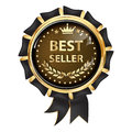 Best seller - luxurious award ribbon Royalty Free Stock Photo