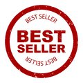 Best seller simple stamp round vector Royalty Free Stock Photo