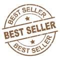 Best seller stamp Royalty Free Stock Photo
