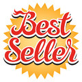 Best Seller Sticker Royalty Free Stock Photo