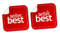 Best seller stickers Royalty Free Stock Photo
