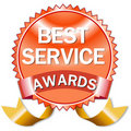 Best service Royalty Free Stock Photos