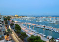 Best view of palma de mallorca with the cathedral santa maria Royalty Free Stock Photos