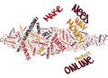 Best Way To Make Money Online What It Takes Word Cloud Concept Royalty Free Stock Photo