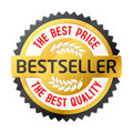 Bestseller emblem Royalty Free Stock Images