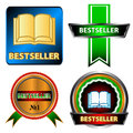Bestseller logo set Stock Photo