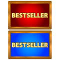 Bestseller logos Stock Photography