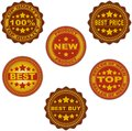 Bestseller new product best buy vector stamps Stock Photography