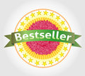 Bestseller vector label eps Royalty Free Stock Photos
